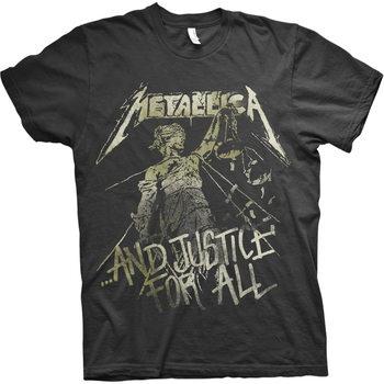 T-shirt Metallica - Justice Vintage