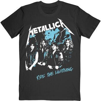 T-shirt Metallica - Vintage Ride The Lighting