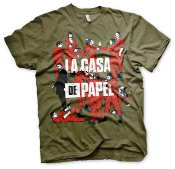 T-shirt Money Heist  - La Pandilla