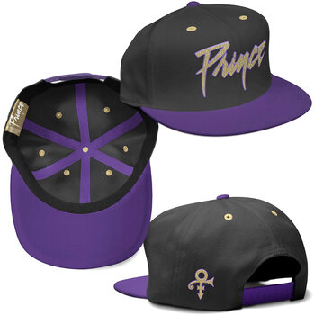 Cap Prince - Gold&Purple Symbol