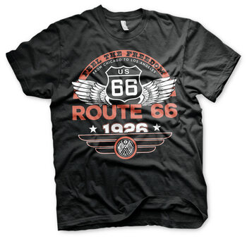 T-shirt Route 66 - Feel The Freedom