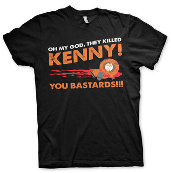 T-shirt South Park - The Killed Kenny S