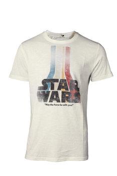 T-shirt Star Wars - Retro Rainbow Logo