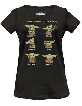 T-shirt Star Wars: The Mandalorian - Child Chibi