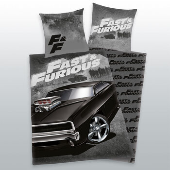 Bed sheets Fast and Furious - Dodge Charger