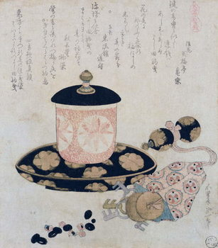 Fine Art Print  A Pot of Tea and Keys, 1822