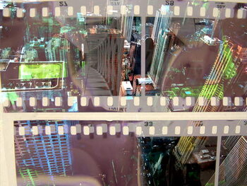 Fine Art Print Abstract Movie 2