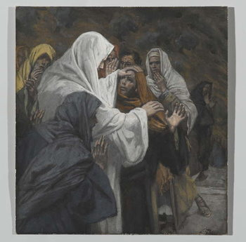 Fine Art Print Address to Saint Philip, illustration from 'The Life of Our Lord Jesus Christ', 1886-94