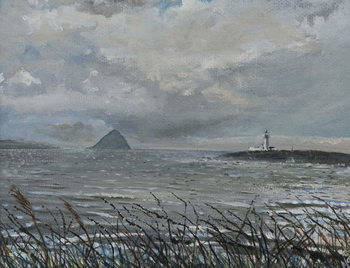 Fine Art Print Ailsa Craig from Arran, 2007,