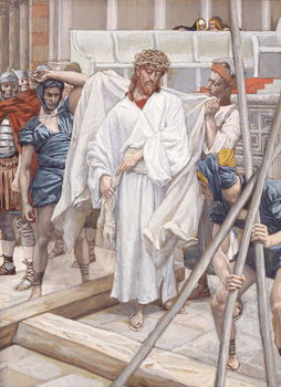 Fine Art Print And They Put Him in His Own Raiment, illustration for 'The Life of Christ', c.1886-94