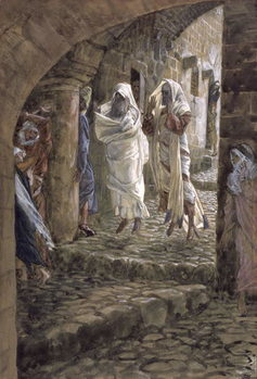 Fine Art Print Apparitions of the Dead in the Streets of Jerusalem, illustration for 'The Life of Christ', c.1886-94