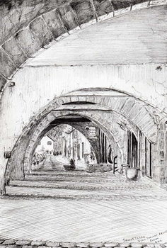 Fine Art Print Arches Sauveterre France, 2010,