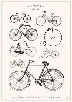 Fine Art Print Bicyclettes