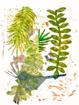 Fine Art Print Botanical jungle