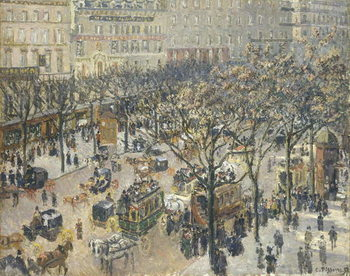 Fine Art Print  Boulevard des Italiens, Morning, Sunlight, 1897