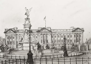 Fine Art Print Buckingham Palace, London, 2006,