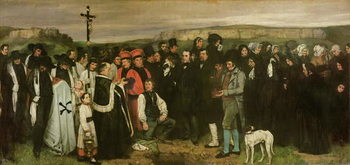 Fine Art Print Burial at Ornans, 1849-50