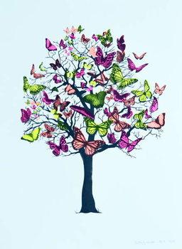 Fine Art Print Butterfly blossom, 2016,