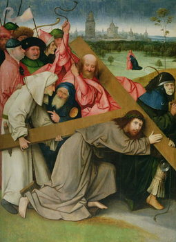 Fine Art Print Christ Carrying the Cross