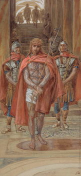 Fine Art Print Christ Leaves the Judgement Hall, illustration for 'The Life of Christ', c.1886-94