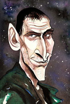 Fine Art Print Christopher Eccleston as Doctor Who  in BBC television series of same name