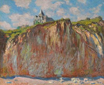 Fine Art Print  Church of Varengeville, Morning Effect; Eglise de Varengeville, effet matinal, 1882