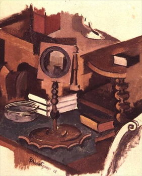 Fine Art Print Corner of a Table: Study for 'The Conjugale Life', 1912