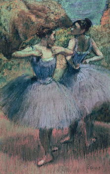 Fine Art Print  Dancers in Violet