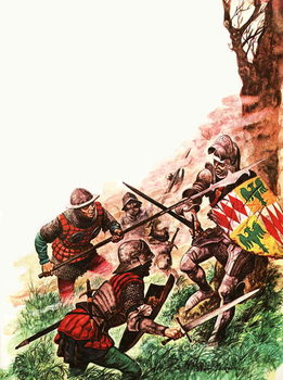 Fine Art Print Death of the Earl of Warwick