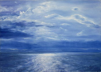 Fine Art Print Deep Blue Sea, 2001