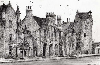Fine Art Print Dornoch Scotland, 2006,