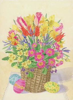 Fine Art Print Easter Basket, 1996