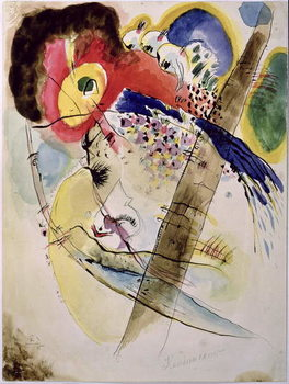 Fine Art Print Exotic Birds, 1915