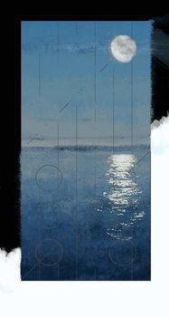 Fine Art Print Genesis Day 2: Waters, 2014, digital painting