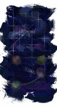 Fine Art Print Genesis Day 4: Stars, 2014,