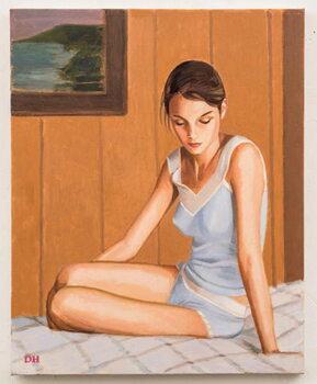Fine Art Print Girl from Oslo