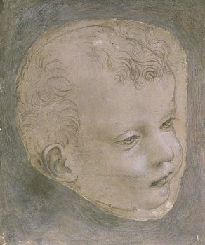Fine Art Print Head of a Child