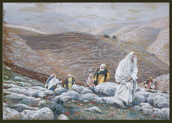 Fine Art Print  Jesus Goes Up into Jerusalem, illustration for 'The Life of Christ', c.1886-94