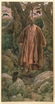 Fine Art Print Judas Hangs Himself, illustration for 'The Life of Christ', c.1886-96