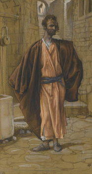 Fine Art Print Judas Iscariot, illustration from 'The Life of Our Lord Jesus Christ', 1886-94