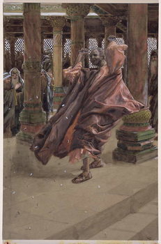 Fine Art Print Judas Repents and Returns the Money, illustration for 'The Life of Christ', c.1886-94