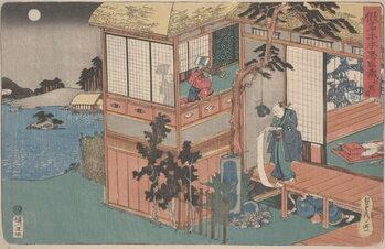 Fine Art Print Kanadehon Chūshingura: Act VII, mid 1830s