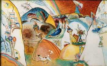 Obraz na plátně  Ladies in a Landscape, 1918
