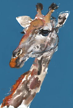 Fine Art Print Lady Giraffe, 2018,