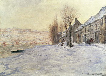 Fine Art Print  Lavacourt under Snow, c.1878-81