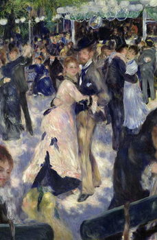 Fine Art Print  Le Moulin de la Galette, detail of the dancers, 1876