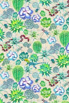 Obrazová reprodukce  Les Jardins Majorelle - Succulents