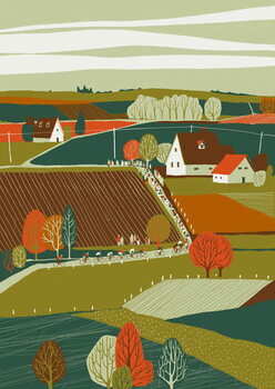 Fine Art Print Liege-Bastogne-Liege