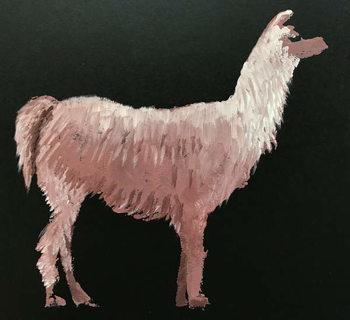 Fine Art Print Llama