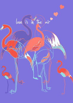 Fine Art Print  Love is in the air, 2013